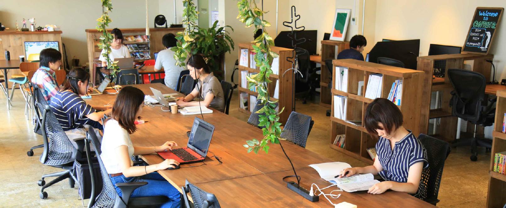 五反田のコワーキングスペース CONTENTZ(コンテンツ)