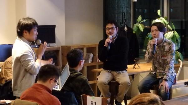 参加者は4人のグループになってディスカッションし、代表者が登壇者に質問する時間も。